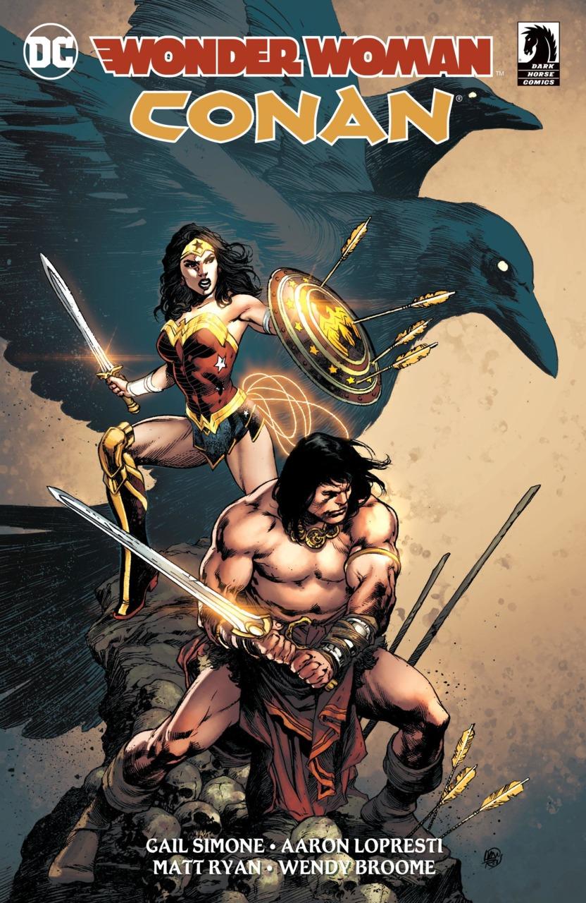 Wonder Woman / Conan 1
