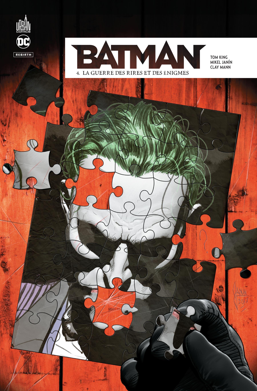Batman Rebirth 4 - La Guerre des rires et des énigmes