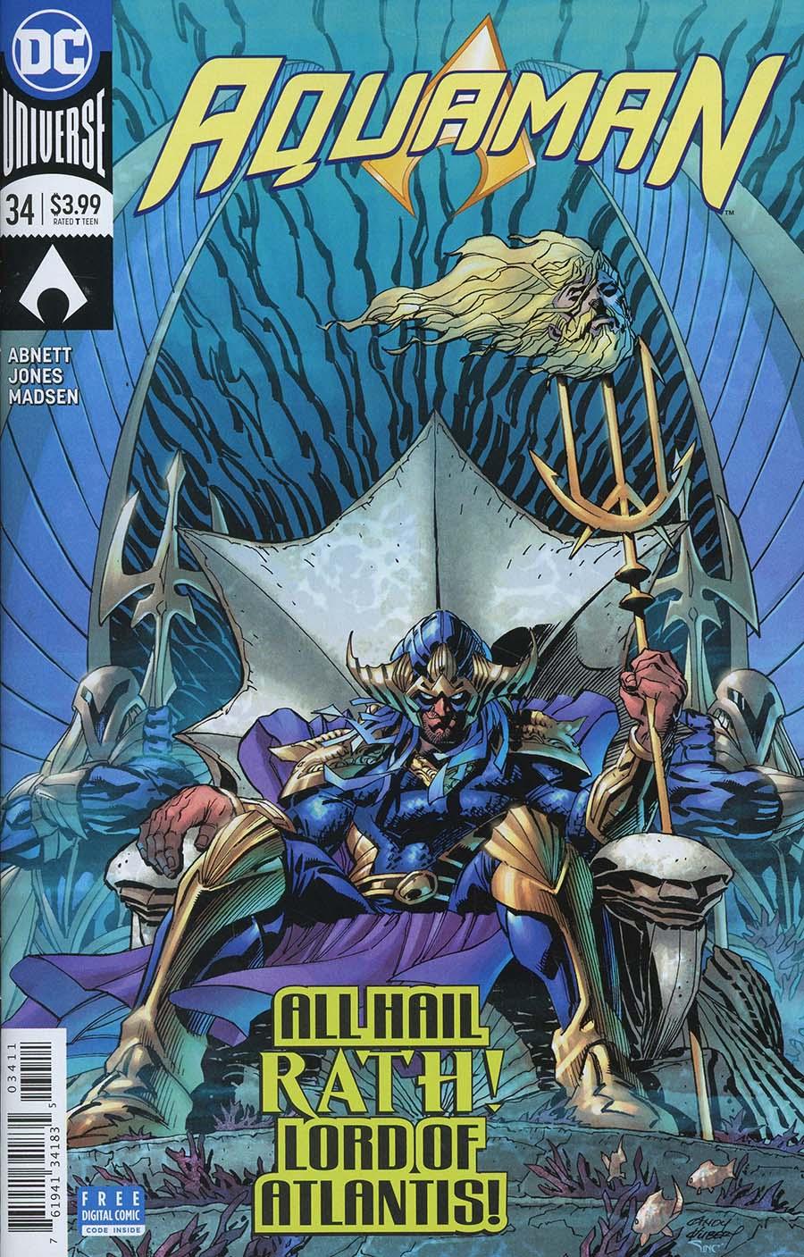 Aquaman 34 - King Rath: Secret Origin