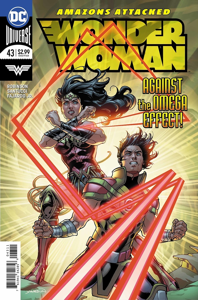 Wonder Woman 43 - 43 - Against the Omega Effect!