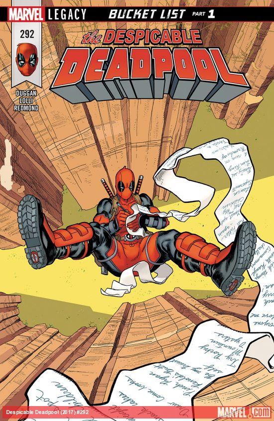 Marvel Legacy - Despicable Deadpool 292 - Bucket List Part One: Deadpool vs. Stevil Rogers