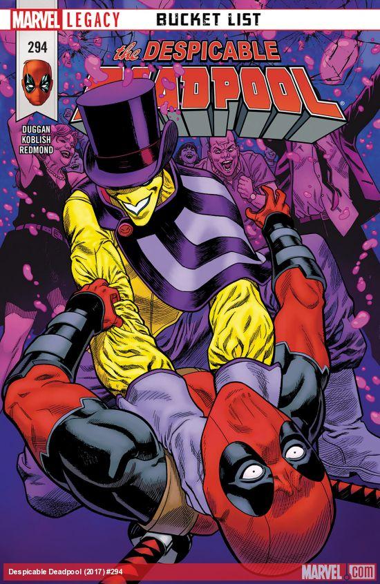 Marvel Legacy - Despicable Deadpool 294 - Bucket List Part Three: Beat It