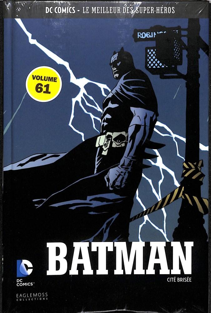 DC Comics - Le Meilleur des Super-Héros 61 - Batman - Cité brisée