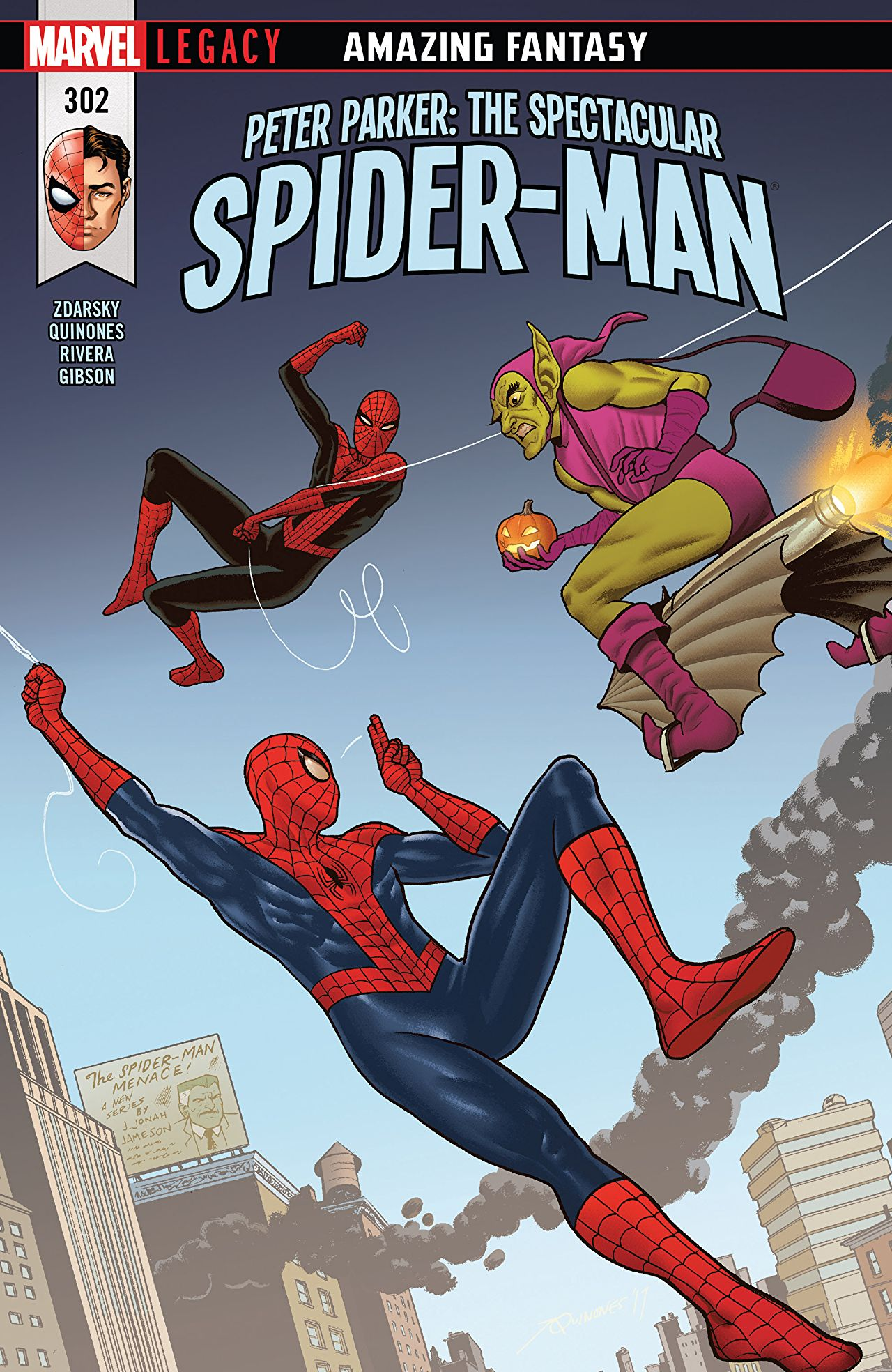 Peter Parker - The Spectacular Spider-Man 302