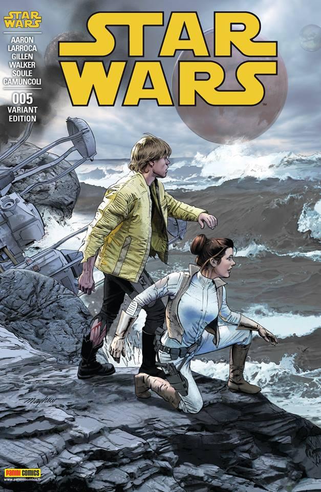 Star Wars 5 - Couverture régulière 2/2 (Mayhew)