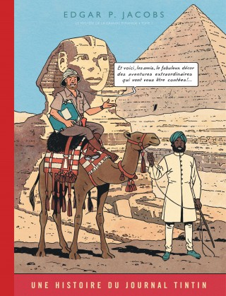Blake et Mortimer 4 - Le mystère de la Grande Pyramide (1/2)