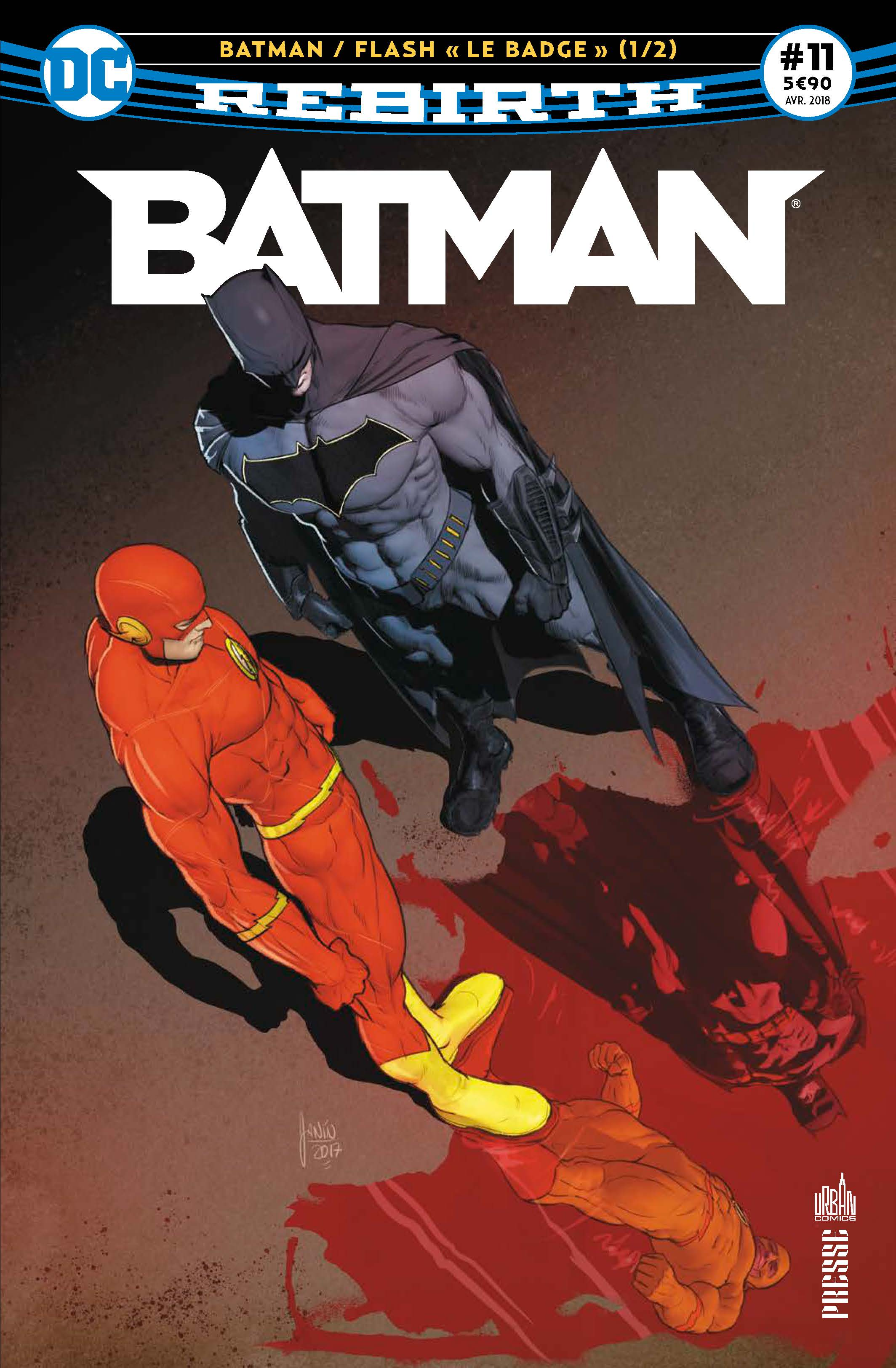 Batman Rebirth 11 - Le badge 1/2