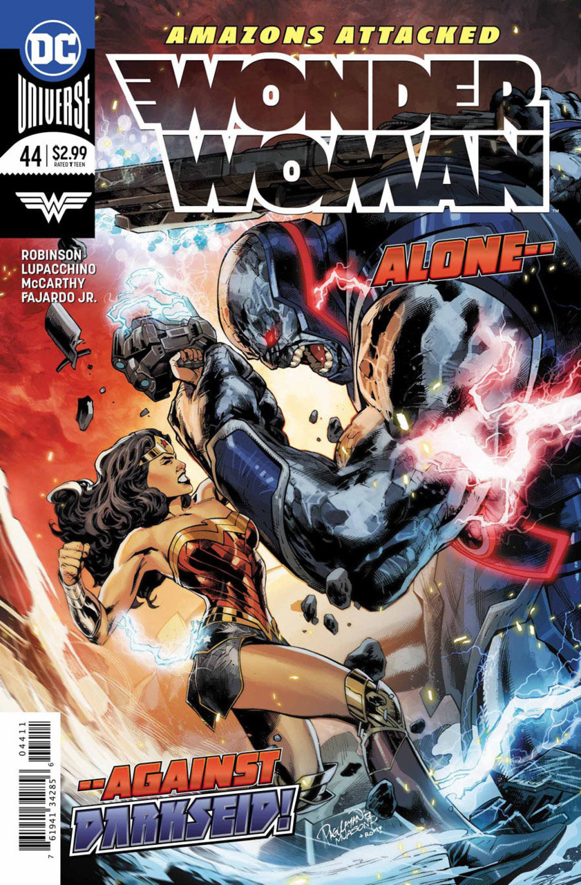 Wonder Woman 44 - 44 - Alone... Against Darkseid!