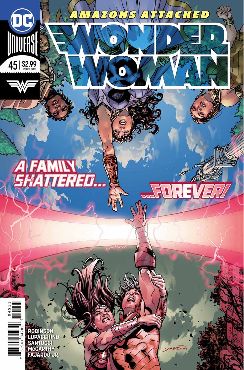 Wonder Woman 45 - 45 - A Family Shattered... Forever!