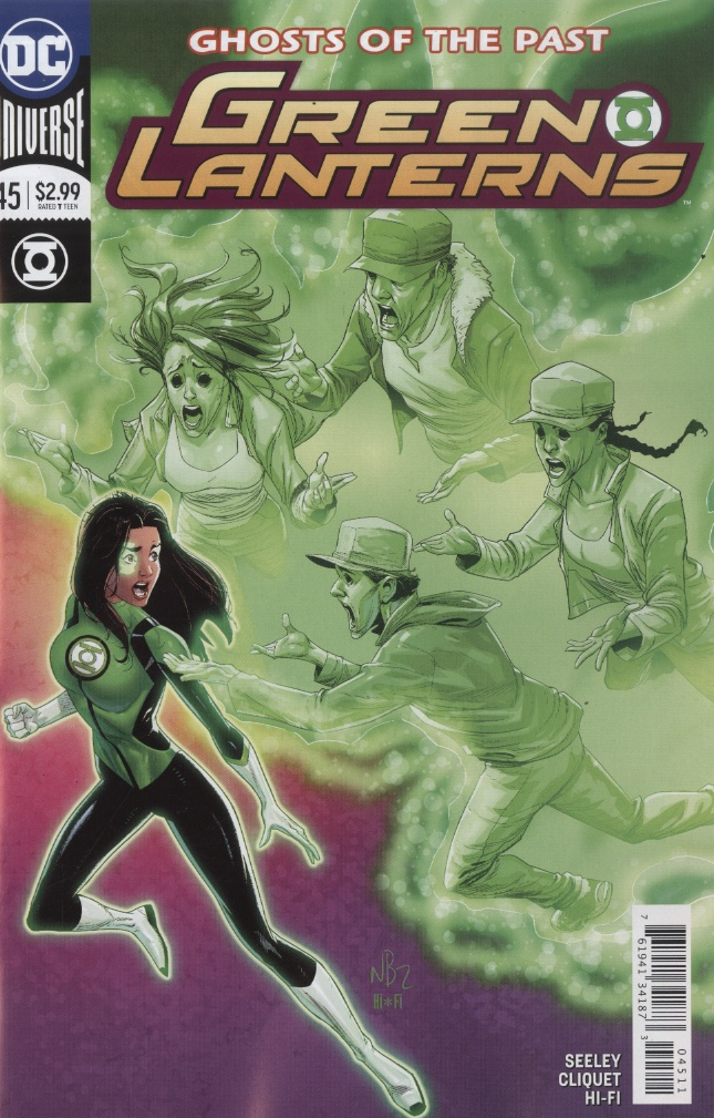 Green Lanterns 45 - Ghosts of the Past 2