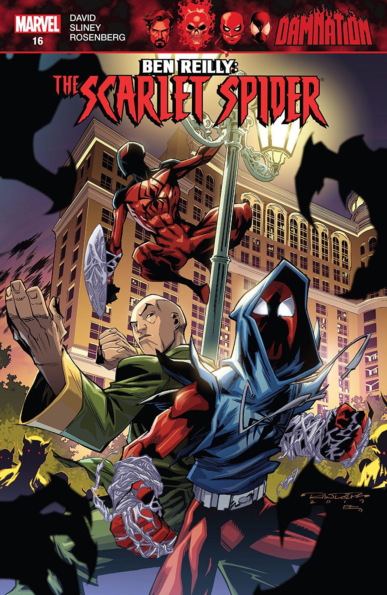 Ben Reilly - Scarlet Spider 16 - DAMNATION TIE-IN