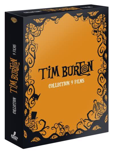 Tim Burton - Coffret 9 films  - Tim Burton - Coffret 9 films