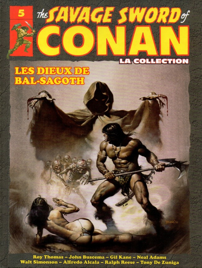 The Savage Sword of Conan 5 - Les dieux de Bal-Sagoth