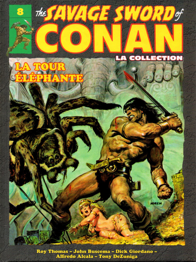 The Savage Sword of Conan 8 - La tour elephante