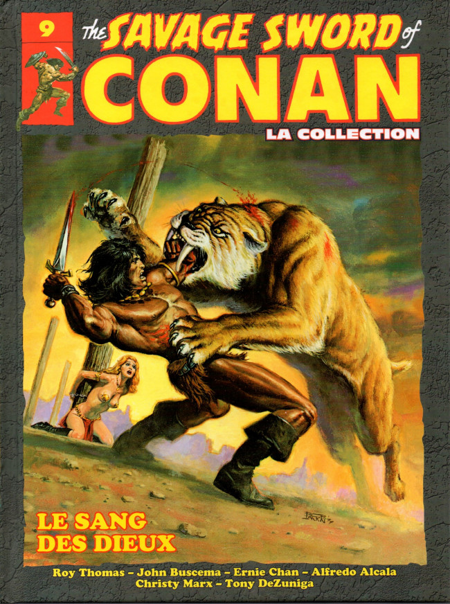 The Savage Sword of Conan 9 - Le sang  des dieux