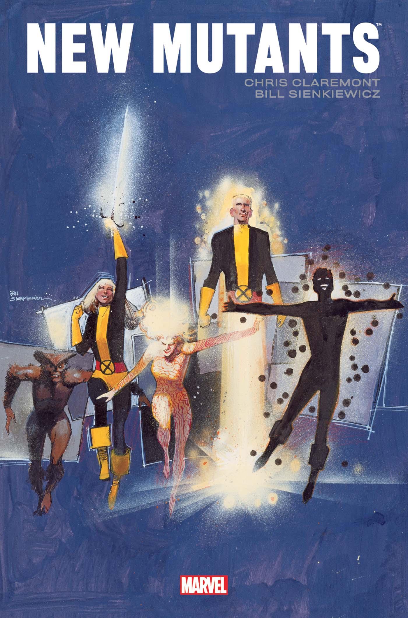 New Mutants Par Claremont / Sienkiewicz 1