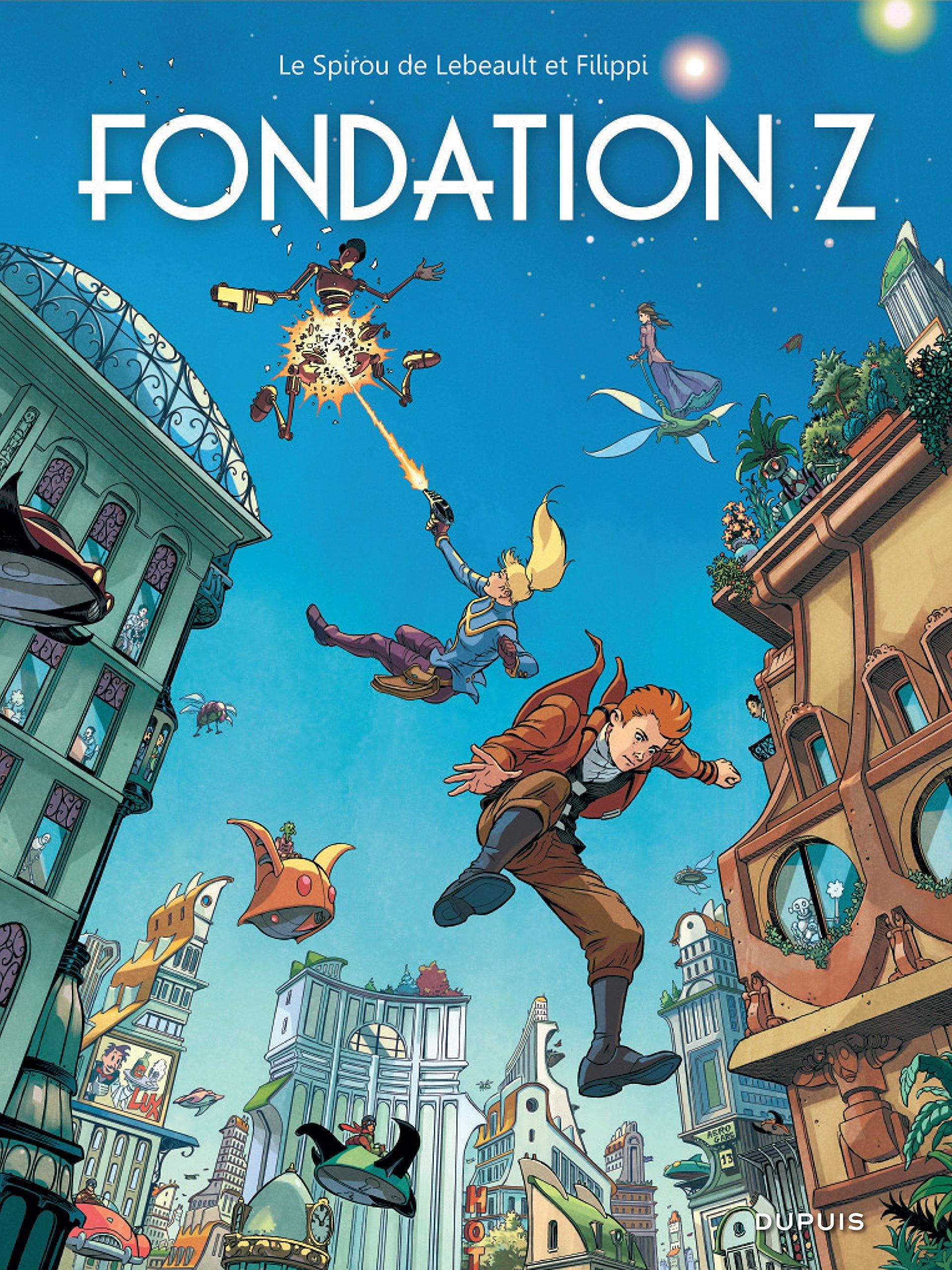 Le Spirou de... 13 - Fondation Z