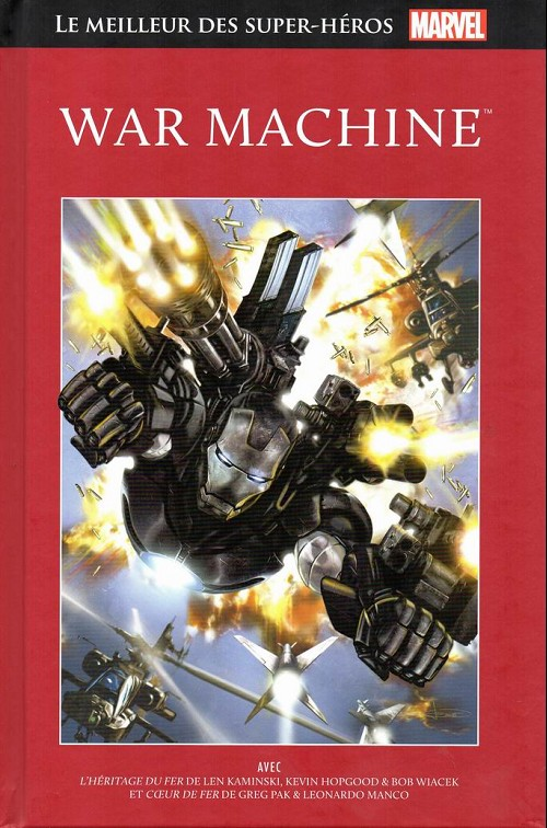 Le Meilleur des Super-Héros Marvel 54 - War Machine