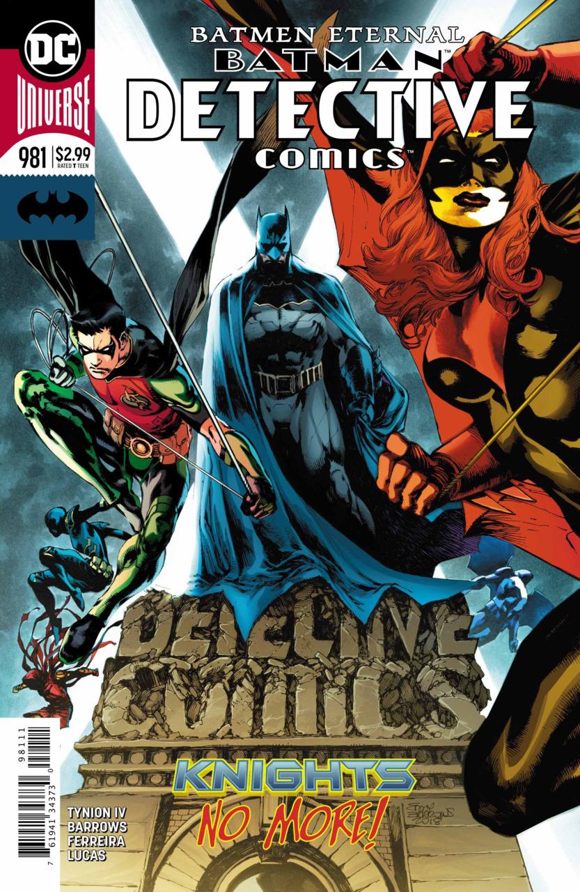 Batman - Detective Comics 981 - Batmen Eternal - finale