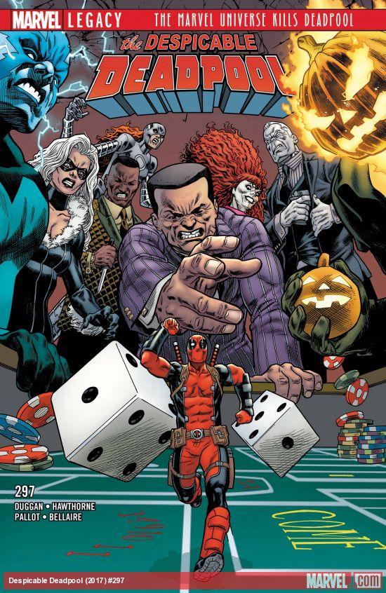 Marvel Legacy - Despicable Deadpool 297