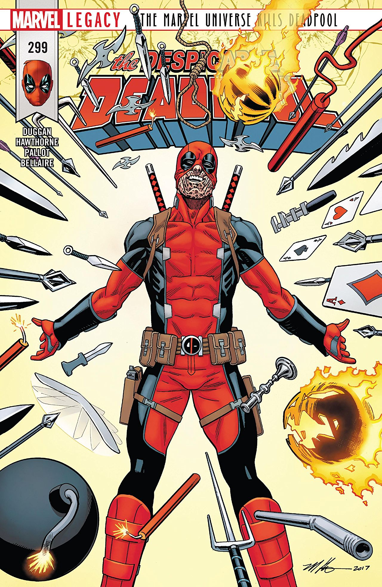 Marvel Legacy - Despicable Deadpool 299