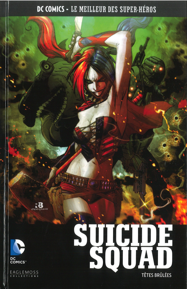DC Comics - Le Meilleur des Super-Héros 66 - Suicide Squad - Têtes Brûlées