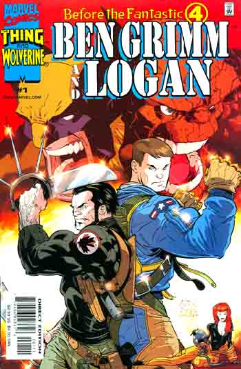 Before the Fantastic Four - Ben Grimm and Logan 1 - Mission to Nowhere
