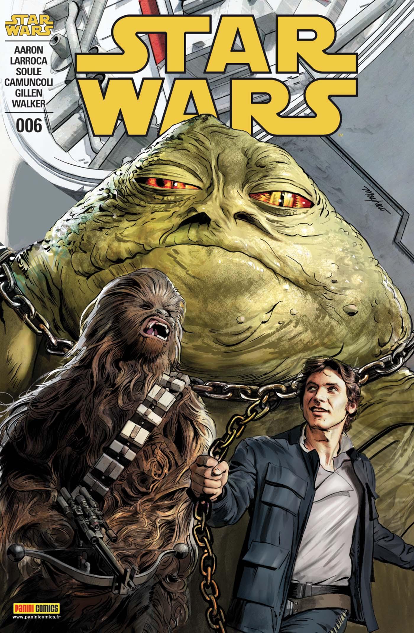 Star Wars 6 - Passeur de Hutt, Couvertures régulière 1/2