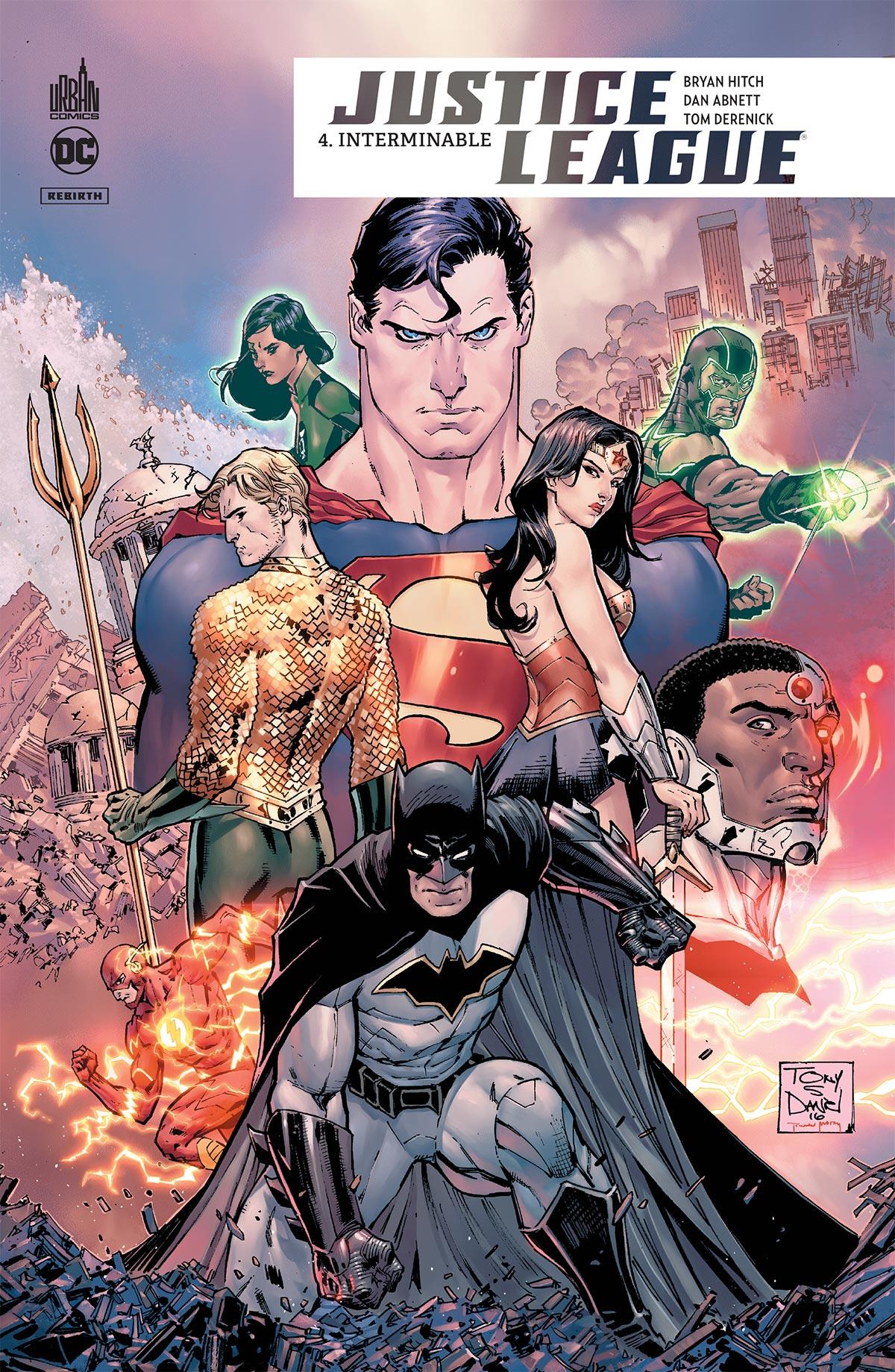 Justice League Rebirth 4 - Interminable