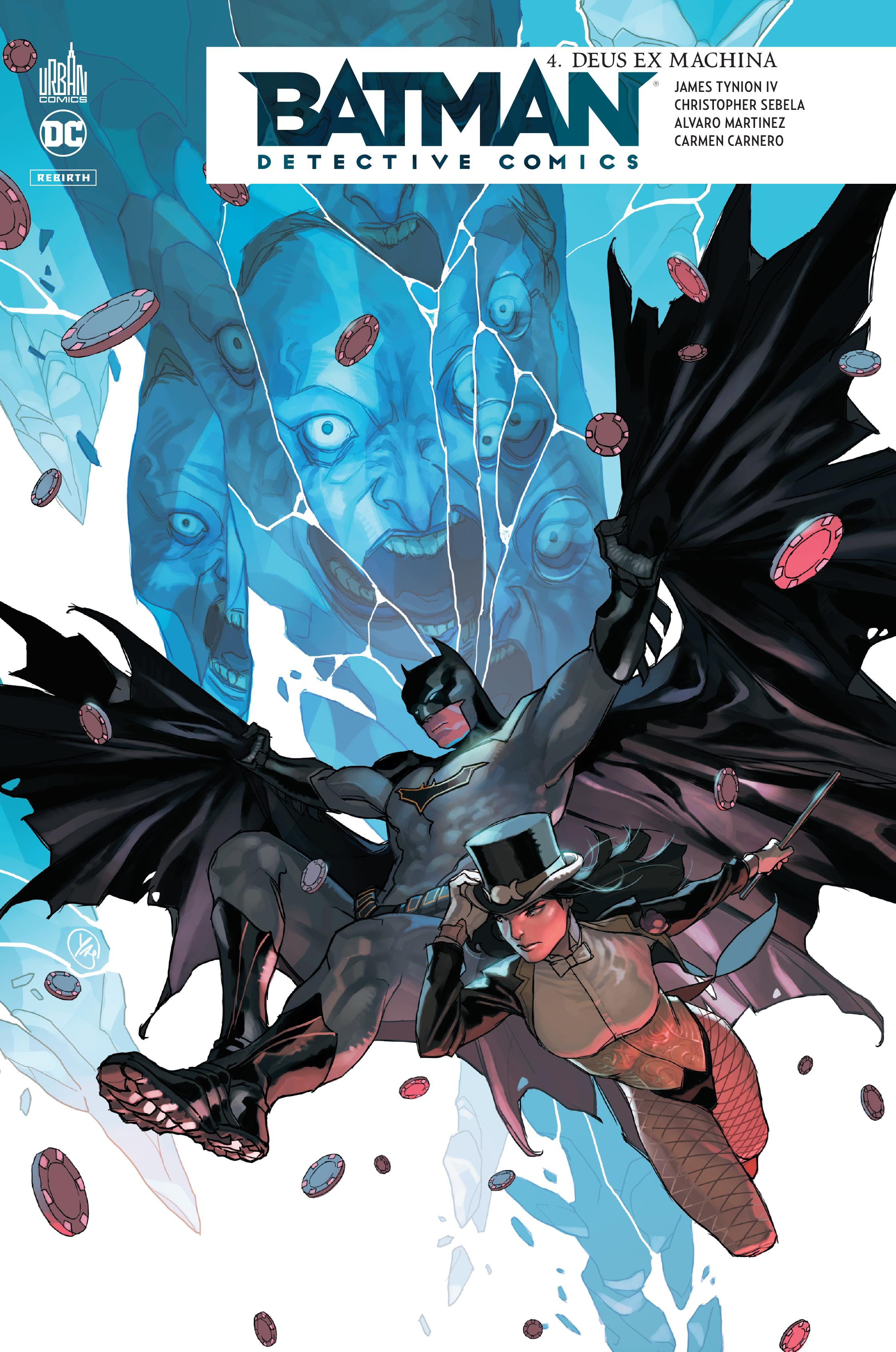 Batman - Detective Comics 4 - Deus Ex Machina