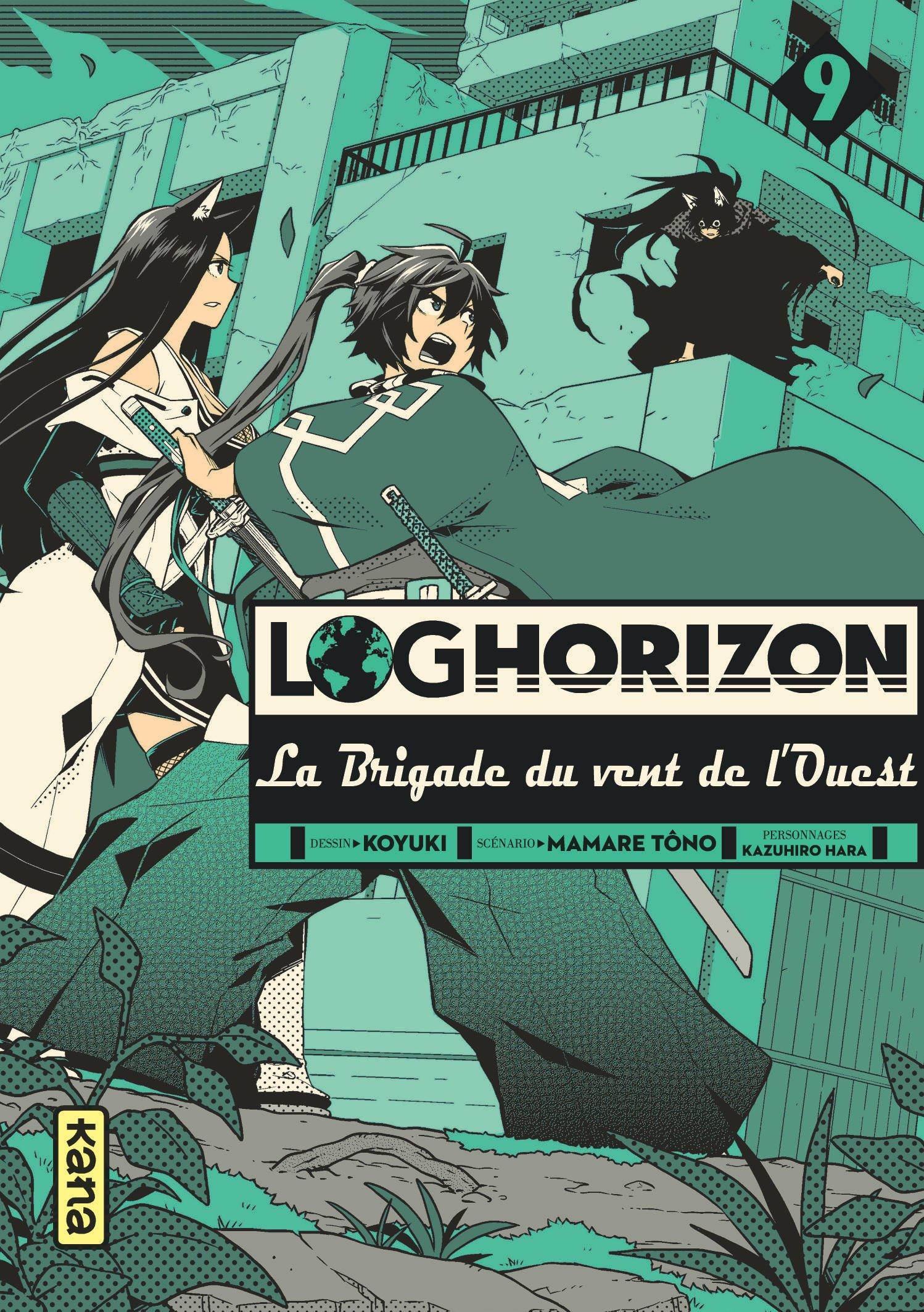 Log Horizon - La brigade du vent de l'Ouest 9