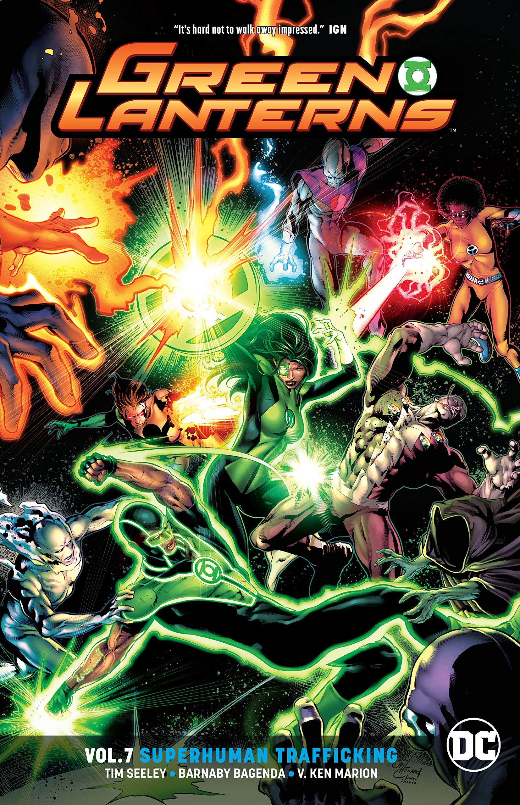 Green Lanterns 7 - Superhuman Trafficking