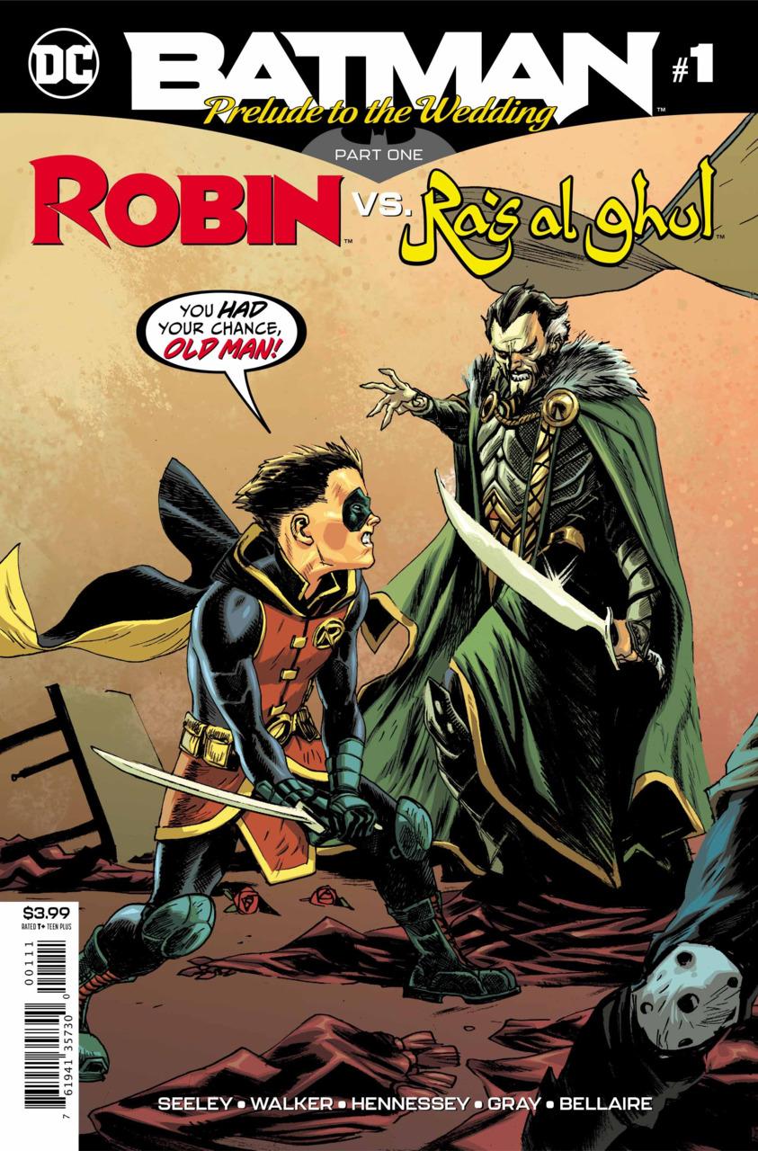 Batman - Prelude to the Wedding - Robin vs. Ra's Al Ghul 1