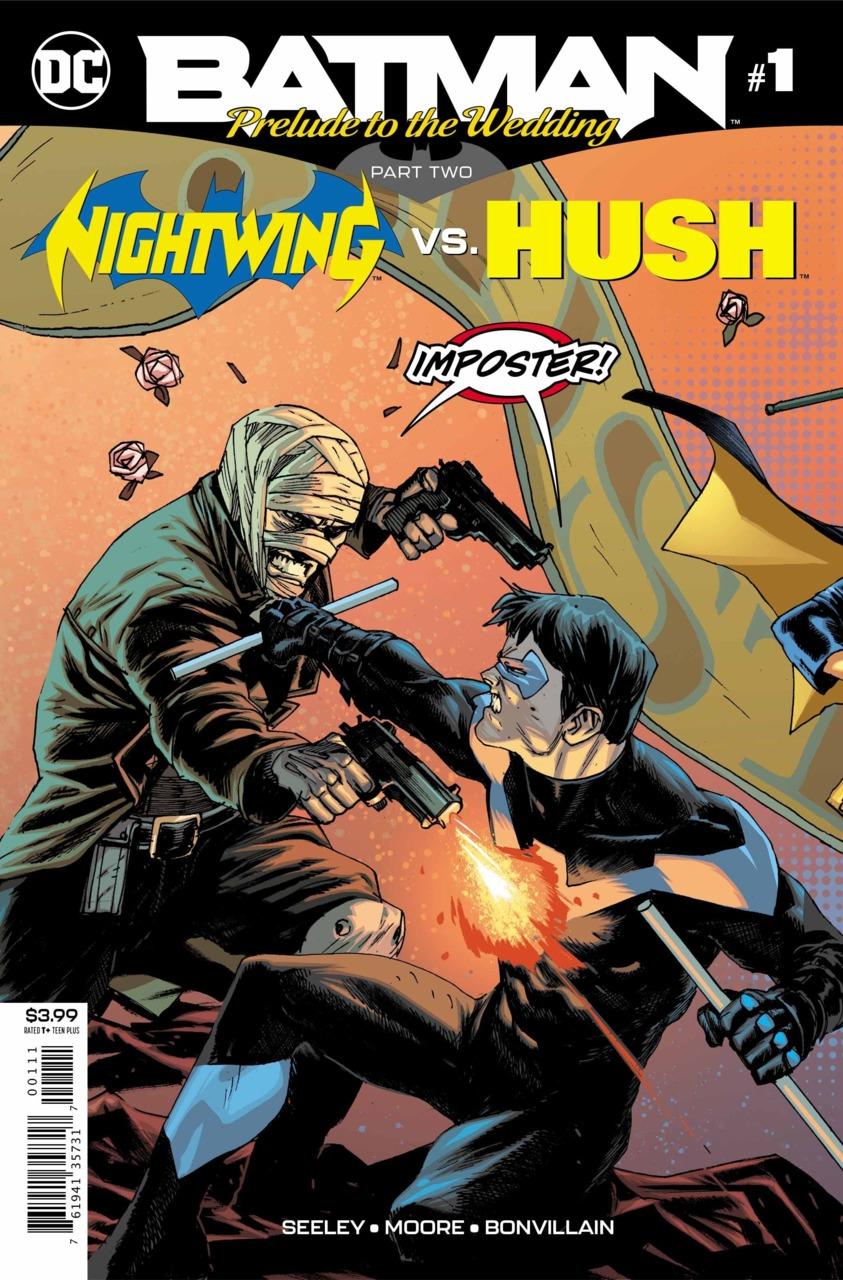 Batman - Prelude to the Wedding - Nightwing vs. Hush 1
