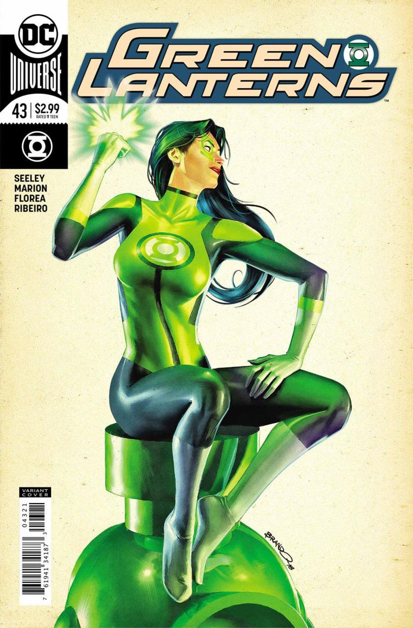 Green Lanterns 43 - Inhuman Trafficking 4 (Variant cover)