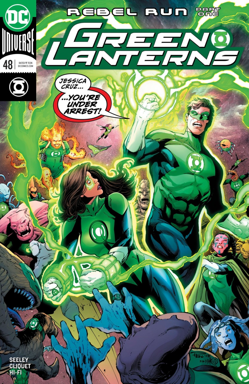Green Lanterns 48 - Rebel run 1