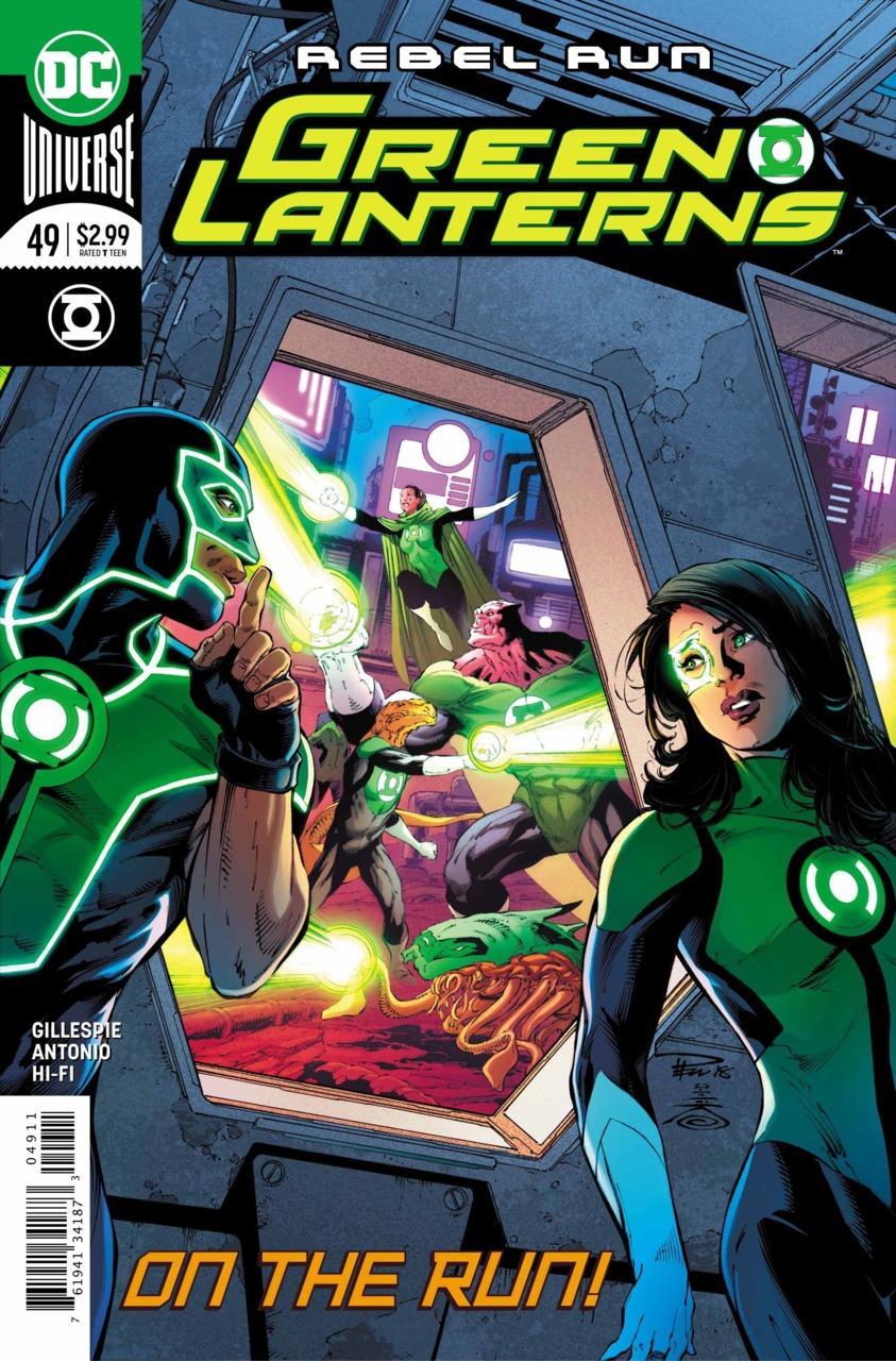 Green Lanterns 49 - Rebel run 2