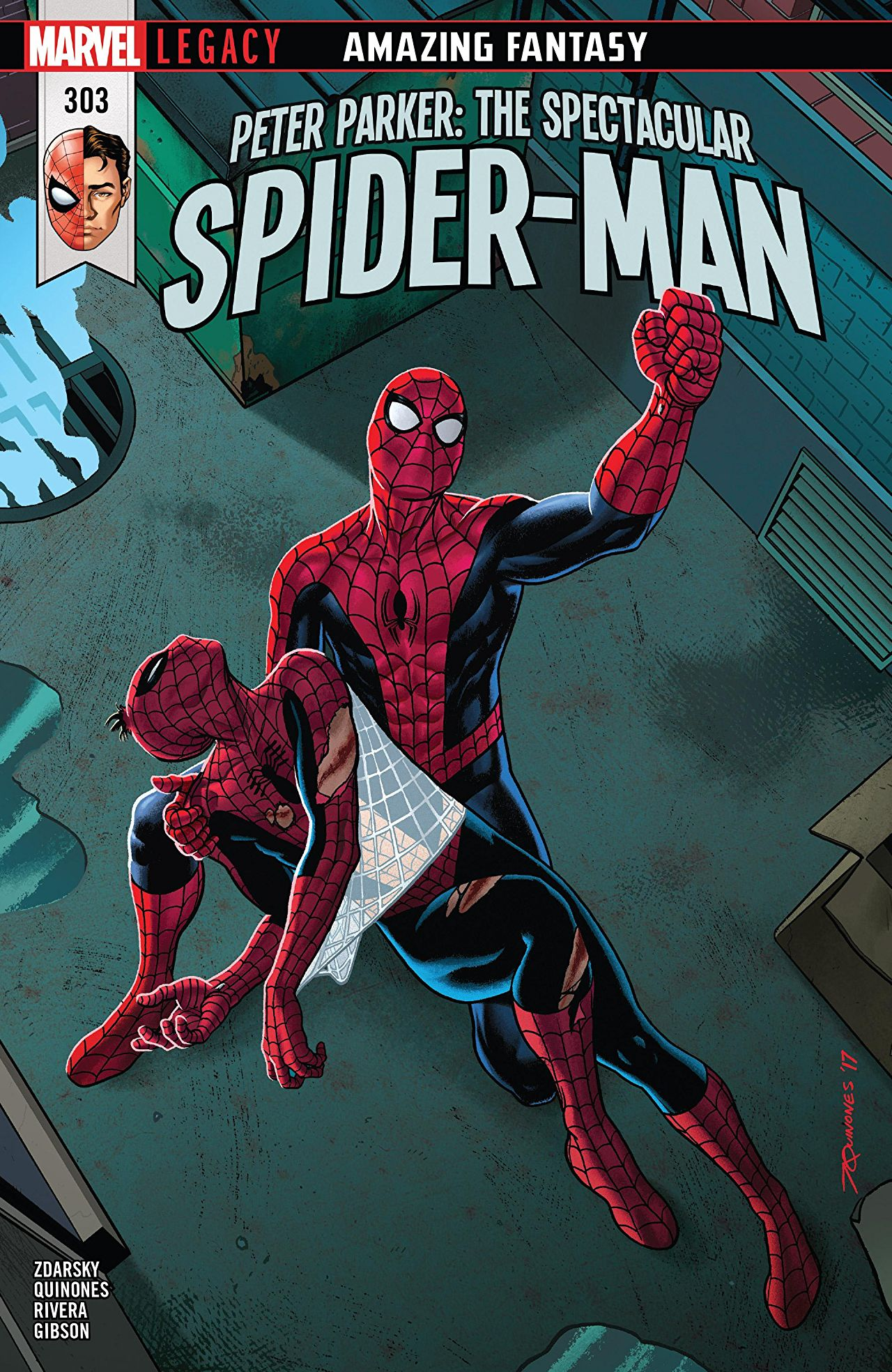 Peter Parker - The Spectacular Spider-Man 303