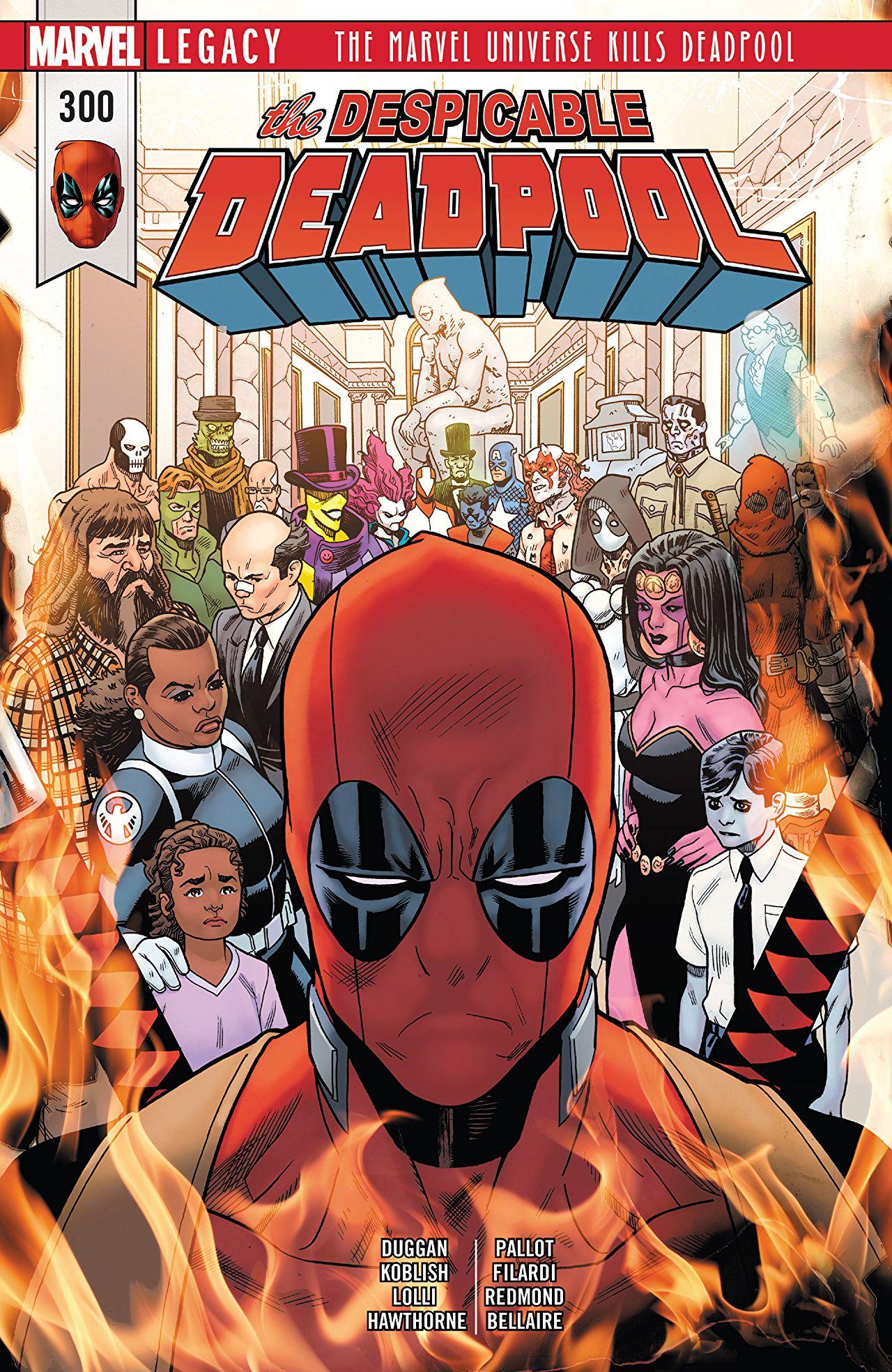 Marvel Legacy - Despicable Deadpool 300