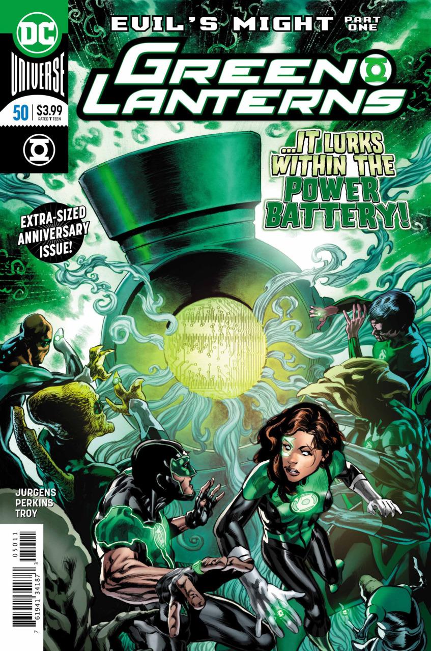 Green Lanterns 50 - Something is amiss