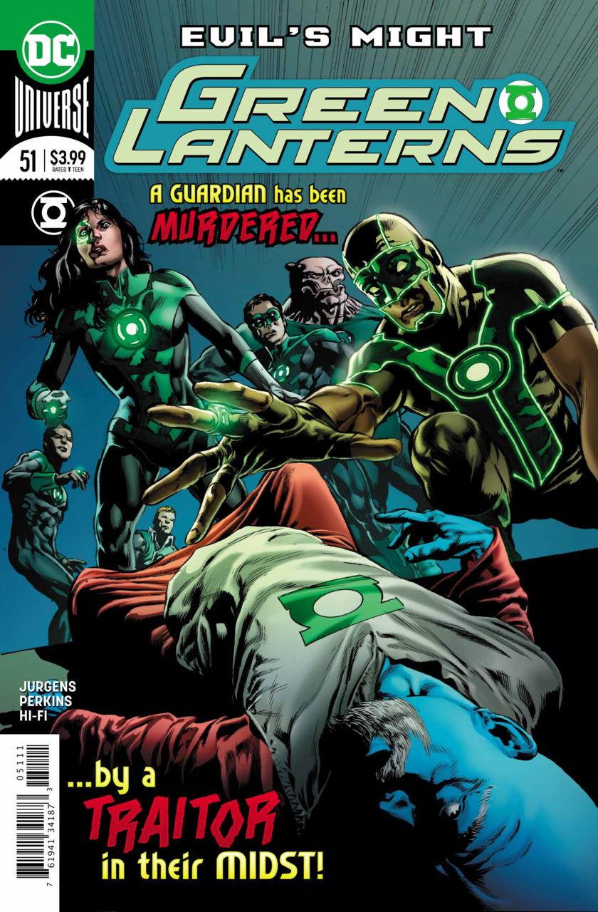 Green Lanterns 51 - Evil's Might 2