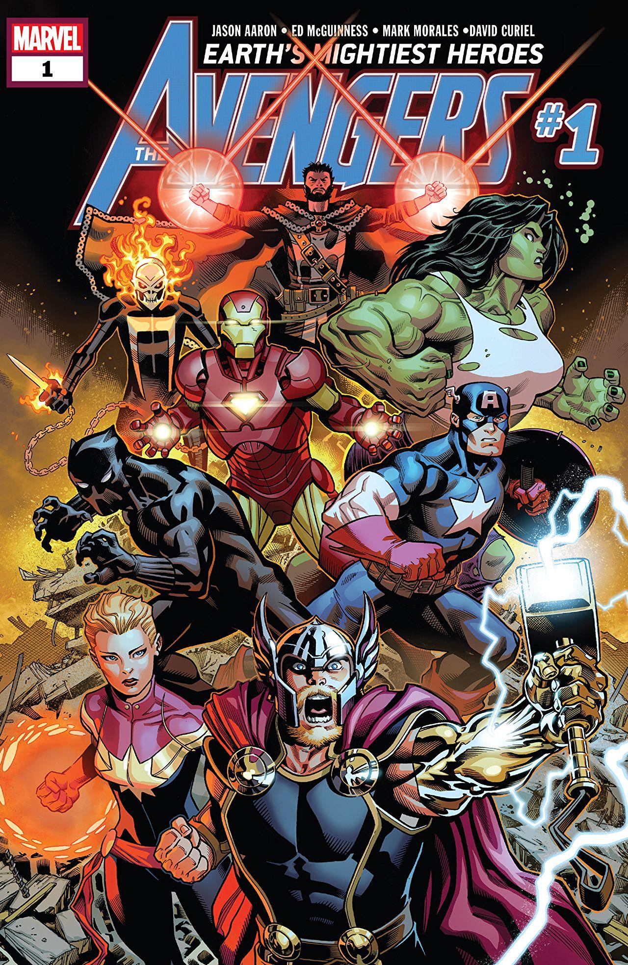 Avengers 1 - THE FINAL HOST PART 1