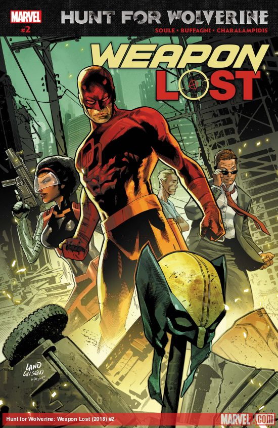 Hunt For Wolverine - Weapon Lost 2