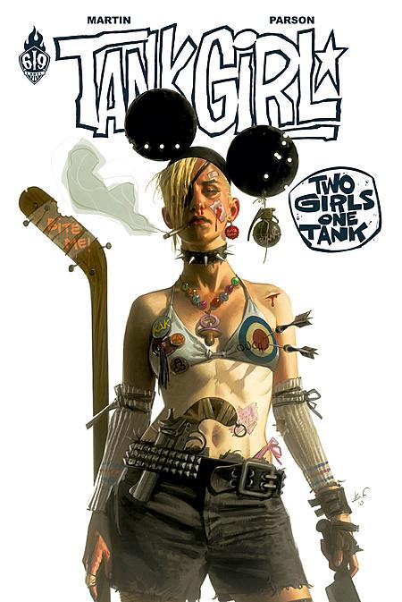 Tank Girl - Two Girls One Tank 1