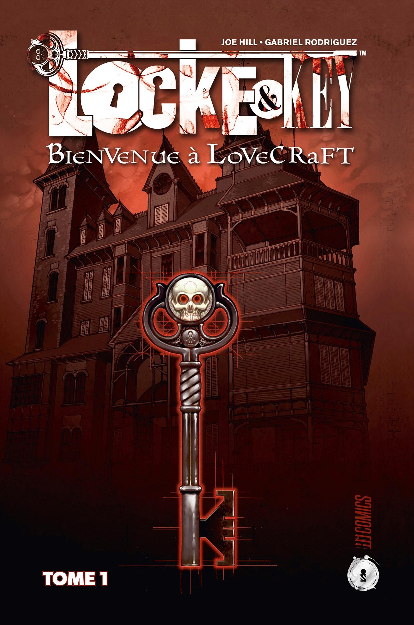 Locke and Key 1 - Nouvelle édition Tome 1 : Bienvenue à Lovecraft