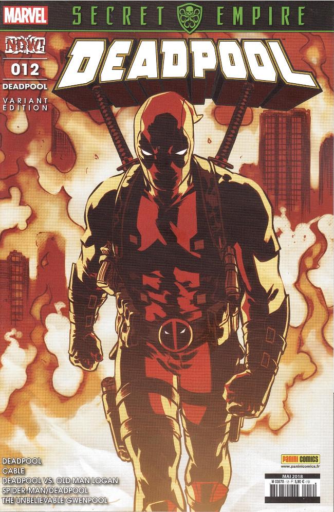 Deadpool 12 - Couverture 2/2 (Kiosque)
