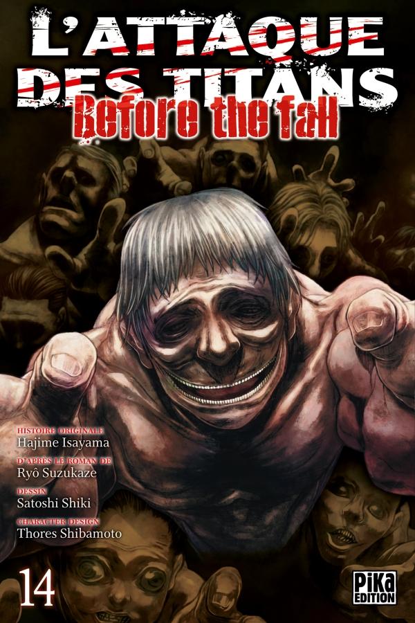 L'Attaque des Titans - Before the Fall 14