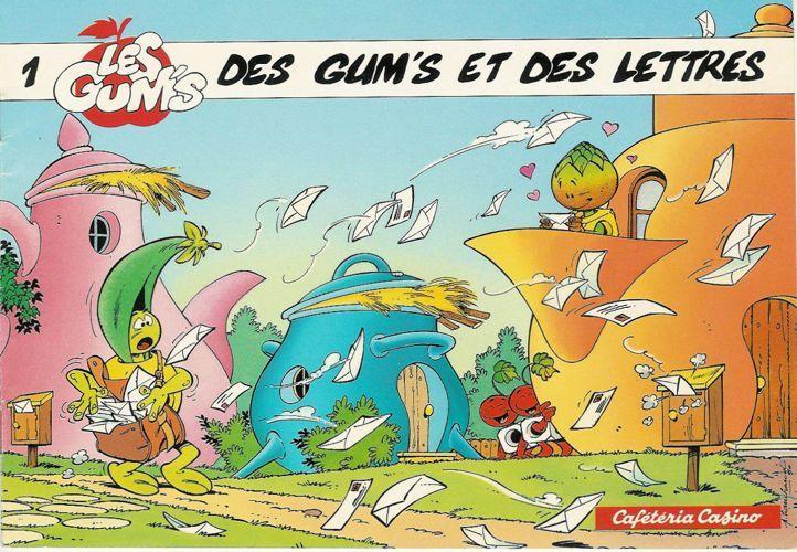 Les Gum's 1 - Des Gum's et des lettres