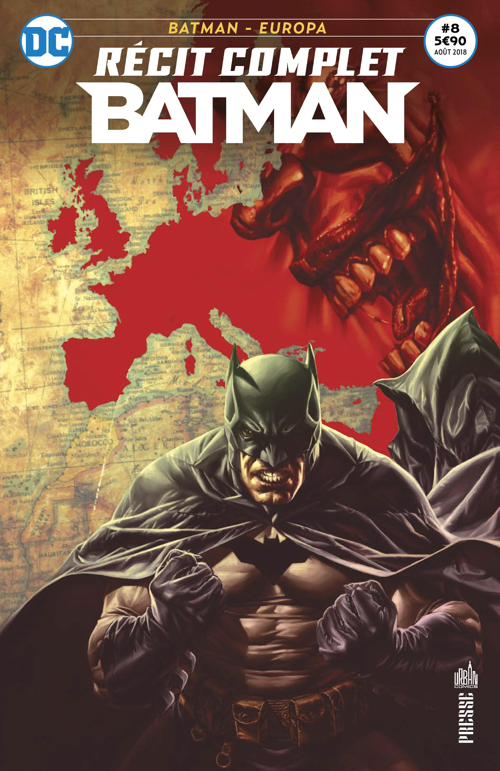 Récit Complet Batman 8 - Europa