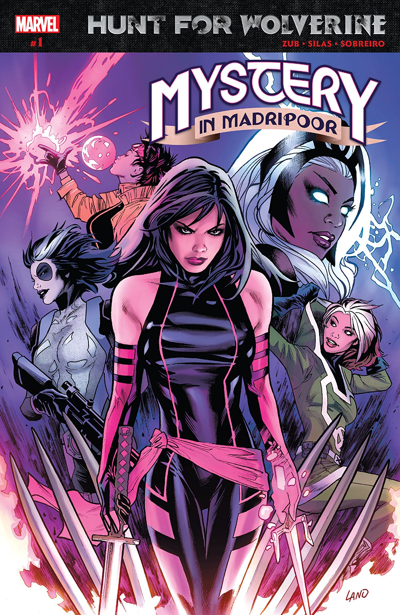 Hunt for Wolverine - Mystery in Madripoor 1